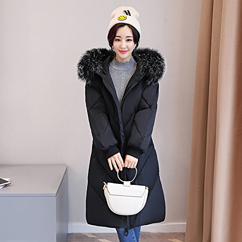 Code Coat Xuanku The And Cotton Cotton Feather Long Dress Women Sau Black Cotton Thickening Jacket ZUxwqp5Zrz