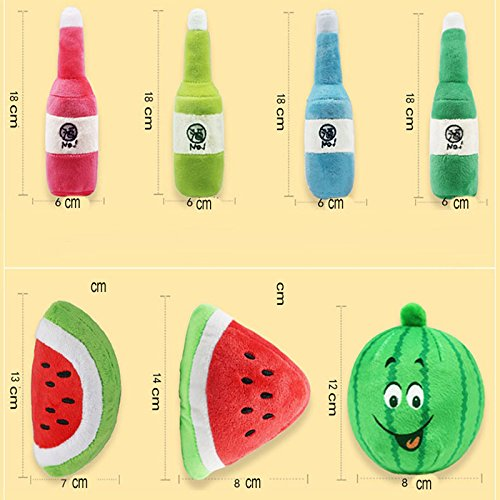 Amazon.com : HBK Traumdeutung Watermelon Cats Toys Accessories Small Dog Products for Pets Kitten Interactive Toy Cat jouet Pour Chat kedi : Pet Supplies