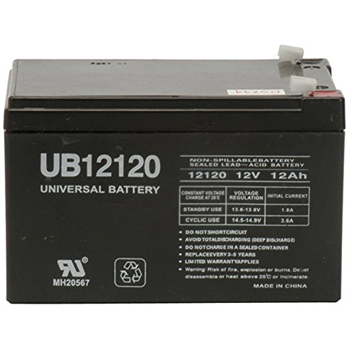 12V 12Ah Replacement Battery for Peg Perego IAKB0501 by Universal Power Group