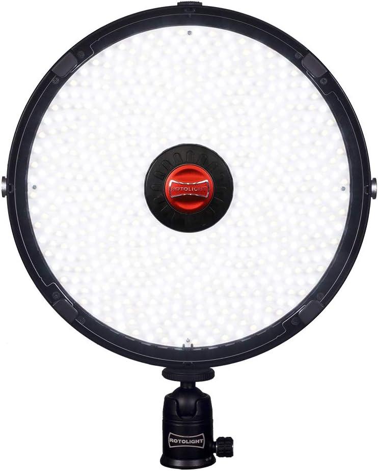 HSS Bi-Color Location LED Light /& High-Speed Sync Flash Rotolight AEOS 2 Light Kit
