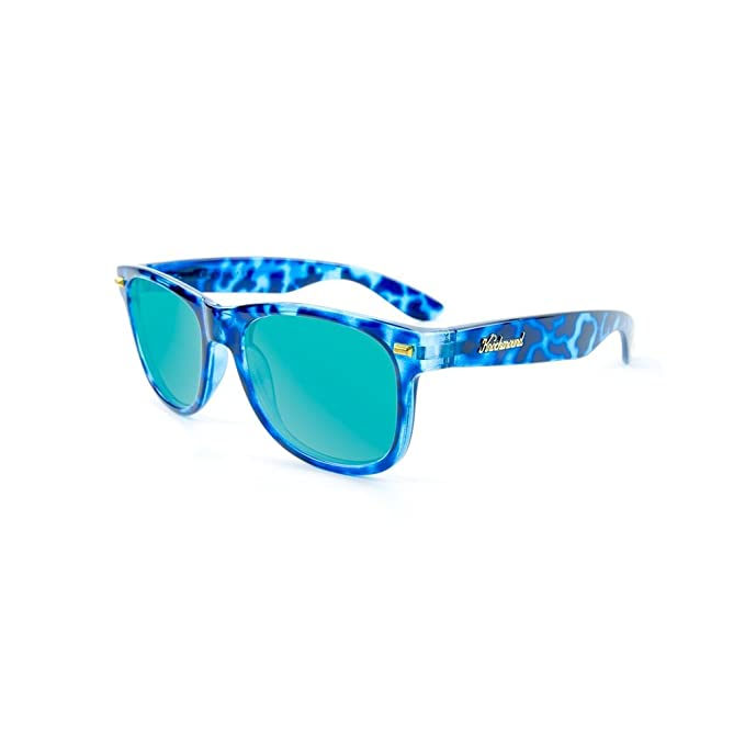 Gafas de sol Knockaround Fort Knocks Glossy Blue Tortoise Shell / Aqua