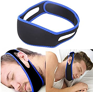 Stop Snoring Jaw Strap Anti Snoring Chin Strap Device - Snoring Solution Sleep Aid that Stops Snoring & Ease Breathing Adjustable size for Men and Women Winuper