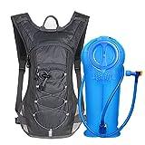 Cheap Unigear Hydration Pack Backpack 70 oz 2L Water Bladder Running, Hiking, Cycling, Climbing, Camping, Biking (Gray)