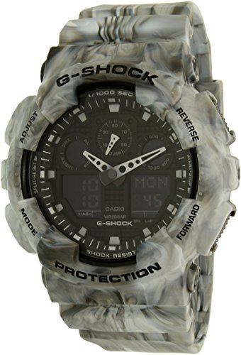 Casio G Shock Black Quartz GA100MM 8A