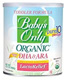 Toddler Formula, Organic Lactose Free, Iron Fortified, 12.7 oz (360 g) by Babys Only Organic (Natures One)