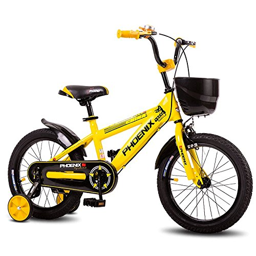XQ イエロー子供用自転車キッズバイク3-13歳少年少女乗馬安全安定 子ども用自転車 ( サイズ さいず : Length-115cm ) B07C2MCVVGLength-115cm