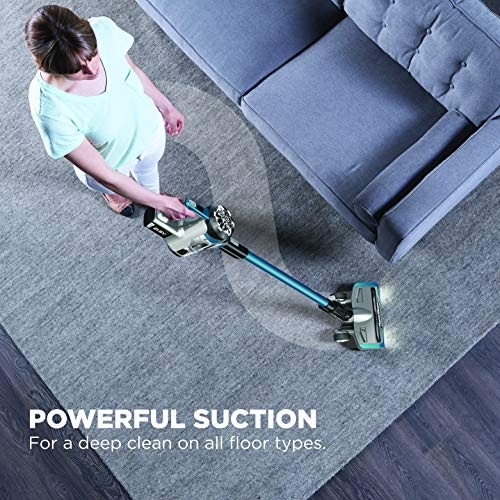 Eureka NEC222 HyperClean Cleaner, Super for All Carpet and Hardwood floor Stick Powerful Digital Motor, Vacuum Cordless