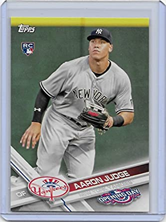 2017 Topps Opening Day Baseball 147 Aaron Judge Rookie Card