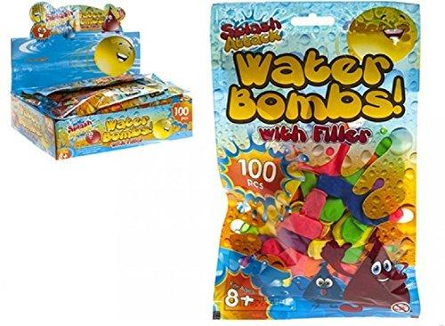 100 Water Bomb Balloons Partyrama R19-111HNB-5