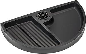 Uplift Desk - Large Half Circle Desk Drawer (Black)