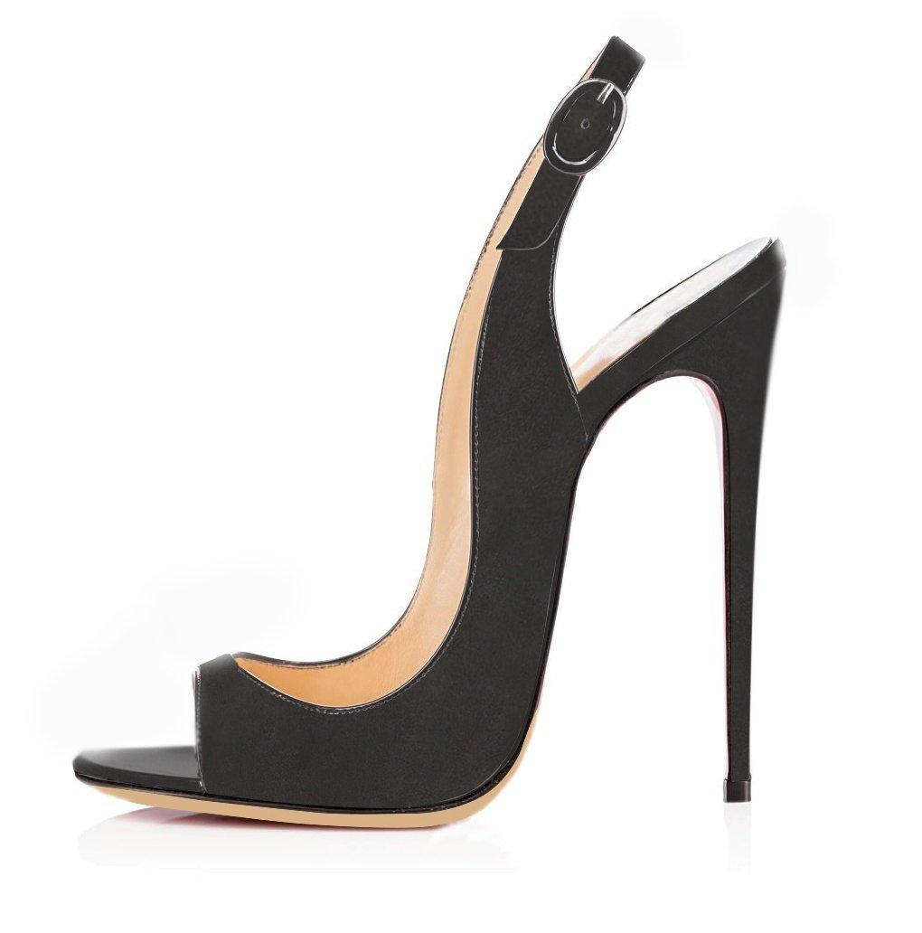 elashe Femmes Artisan Fashion Talon Sandales Décolletés Bout Ouverts 19105 Gris-Suede Chaussures à Talon Haut de 120mm Gris-Suede 35b5981 - gis9ma7le.space