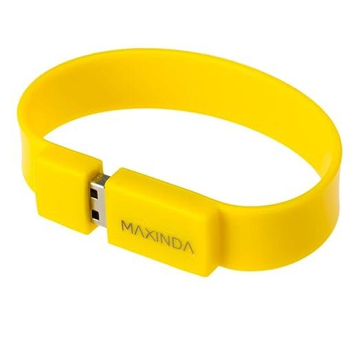 13 opinioni per MAXINDA Braccialetto chiavetta USB Flash Drive da 16GB USB 3,0 Memory Stick Pe,