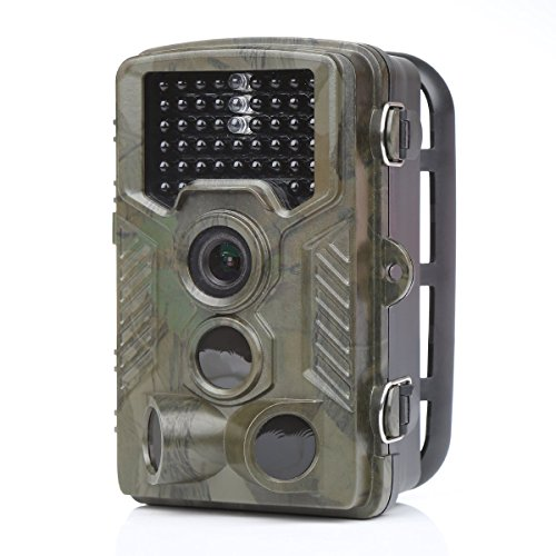 distianert Low Glow Black Infrared Trail & Game Scouting Camera 12MP 1080P Detection Range 80ft Night Vision 65ft IP56 Waterproof
