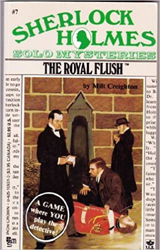 Book The Royal Flush (Solo Mystery Sherlock Holmes)