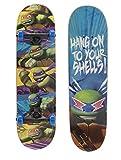 PlayWheels Teenage Mutant Ninja Turtles 28'' Complete Skateboard - Hang On Graphic