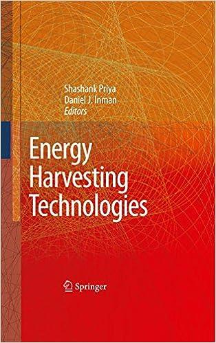 Energy Harvesting Technologies Ebook