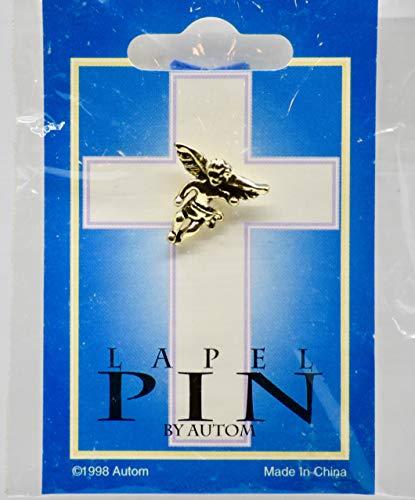 1998 - Autom Lapel Pin - Christian Cherub Angel - OOP - Collectible