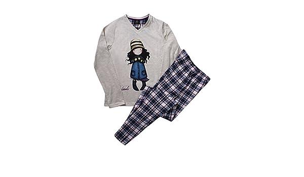 Amazon.com: Santoro - Womens Pyjamas SANTORO TOADSTOOLS beige - BEIGE, S: Clothing