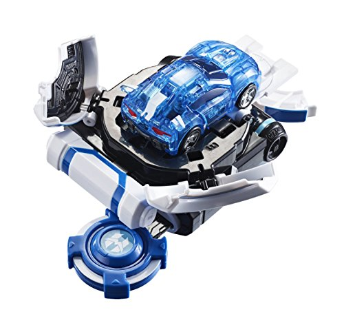 Watchcar Power Battle Bumpercar Ultra Bluewill Car with Auto Shooting Gear Launcher - 2nd Edition -
