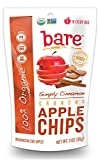 Bare Gluten Free Organic Apple Chips, Cinnamon, 3.3 Ounce