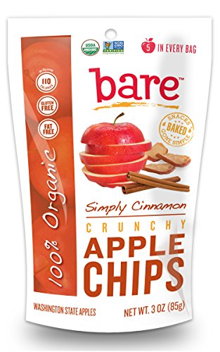 Bare Gluten Free Organic Apple Chips, Cinnamon, 3.3 Ounce by Bare Fruit (Image #1)