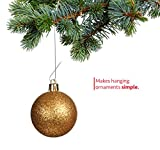 R'ND's 300 Pack Ornament Hooks Christmas Tree