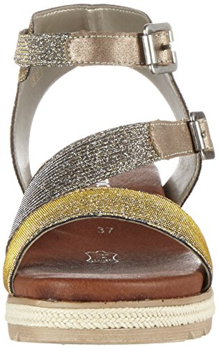 Femme oro D6351 Remonte silver Or Spartiates gold wzxv6