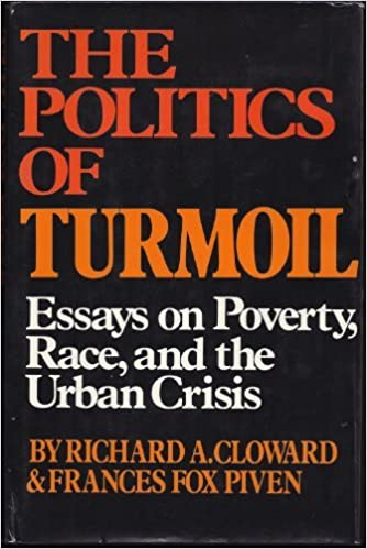 Book The politics of turmoil;: Essays on poverty, race, and the urban crisis,