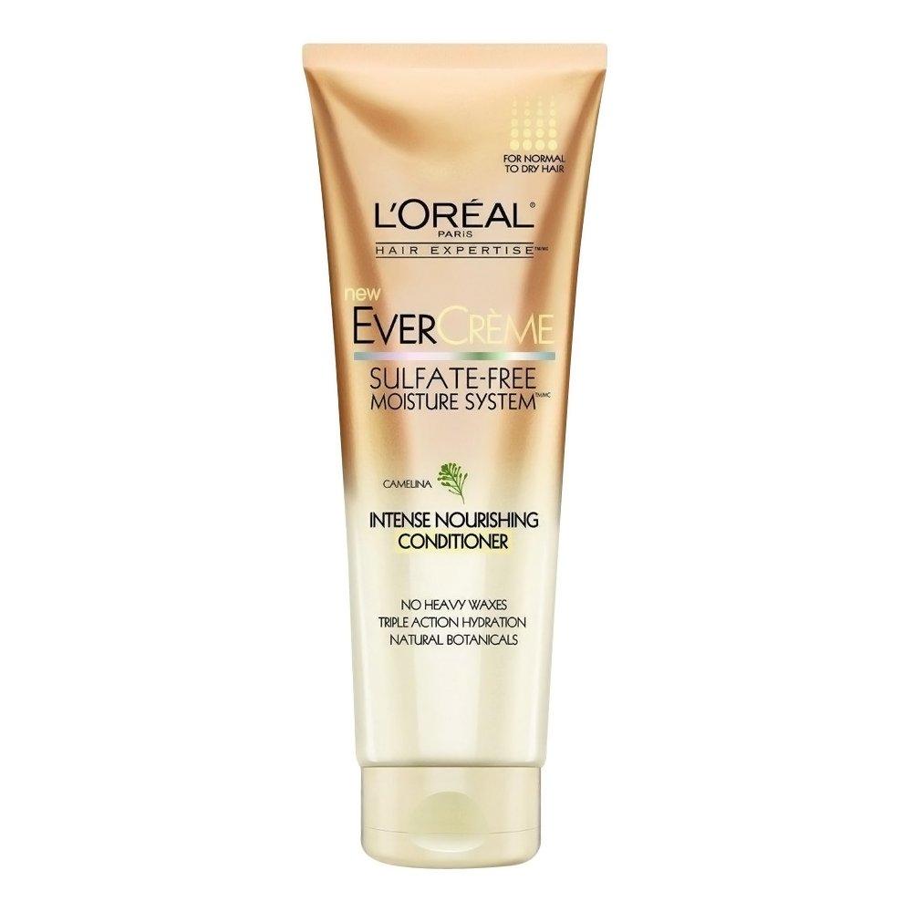 L'Oreal Paris EverCreme Sulfate-Free Moisture System Nourishing Conditioner, 8.5 oz