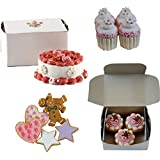 The Queen's Treasures American Bakery Collection Party Set. Collection Includes Cookies, Mini Cupcakes, Muffins a Party Cake. All Food Accessories Sized to Fit 18 inch Girl Dolls.