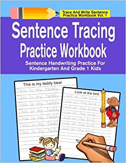 Sentence Tracing Practice Workbook Sentence Handwriting Practice