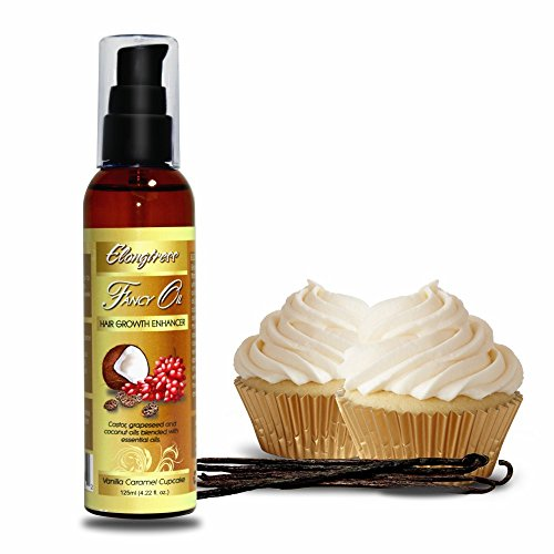 [Elongtress Fancy Oil - Hair Growth Enhancer (Vanilla Caramel Cupcake)] (Growth Enhancer)