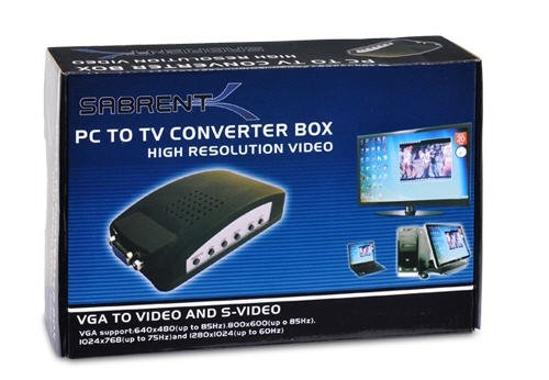 Sabrent PC to TV Converter Box