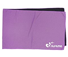 Alfamo cooling towels are different from traditional towels. They are easy to clean and wash and due to the superior material with the feature of cooling your body quickly. It is a best choice for sports fans and outdoor workers. The super ab...