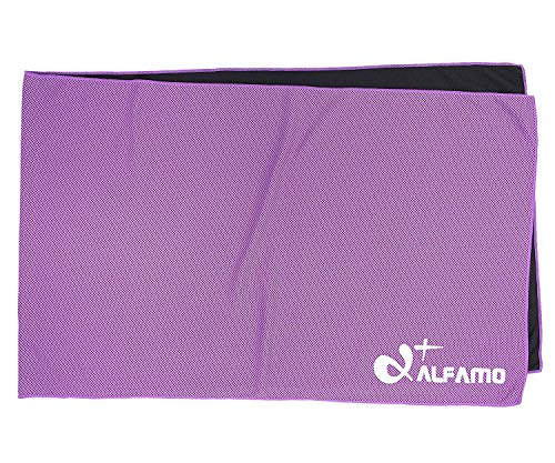 Fitness Towel That Cools, 40 Soft Cooling Scarf Mesh Workout Cooling Towel, Keep Cool for Biking Football Softball Baseball Soccer Golf & All Other Sports or Outdoor Activities