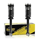 OREDY Front Pair Complete Struts Shocks Assembly Replacement for Chrysler 300 2005-2010 Dodge Charger 2006-2010 Magnum 2005-2008#172248 182248 11260 SR4087 SR4088