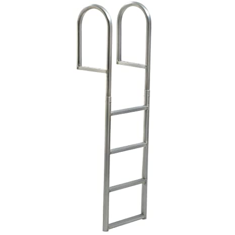 Amazon com: TOMMY DOCKS 4-Step Standard Rung Aluminum Dock