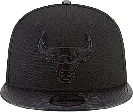 New Era Gorra Chicago Bulls Black ON Black 9FIFTY Color Negro Talla OSFA d3e1d0f7a78