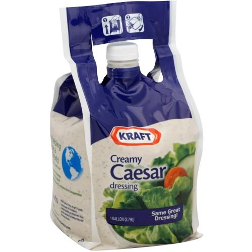 Kraft Creamy Caesar Dressing, 1 Gallon -- 4 per case. by Kraft