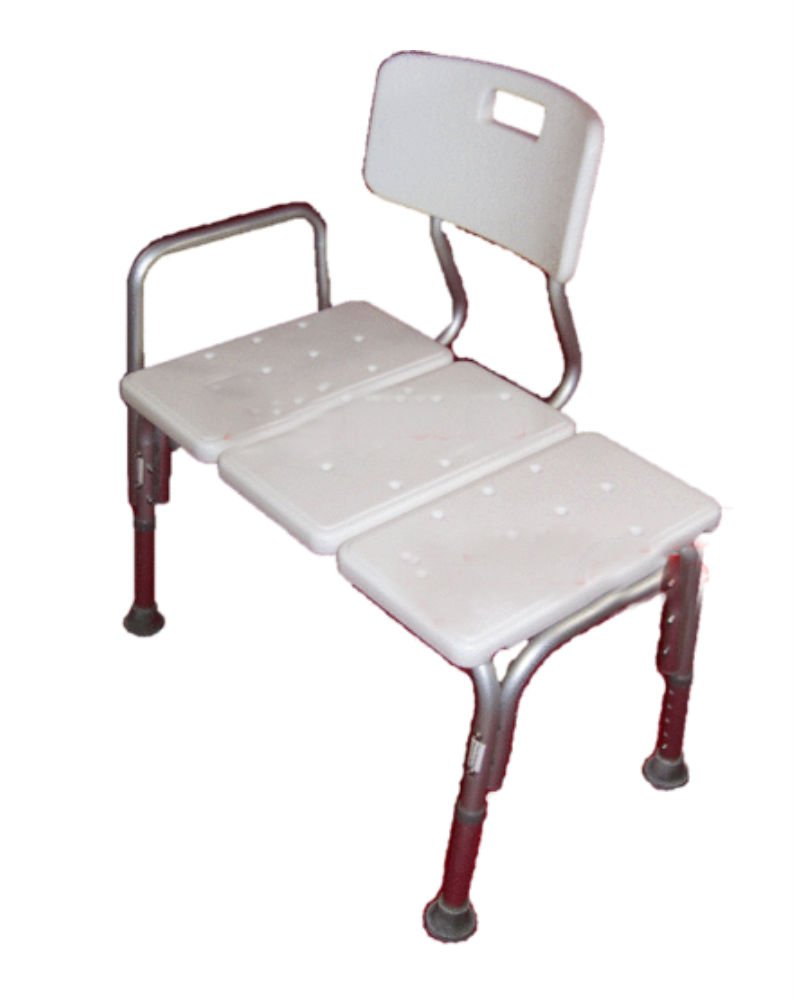 Wheelchair to Bath Tub Shower Transfer Bench Bath Transfer Seat with Hand Rail by Unknown