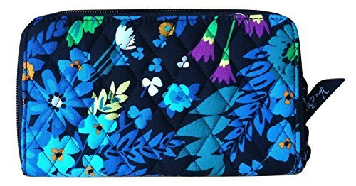Vera Bradley Women's Accordion Wallet Midnight Blues Wallets