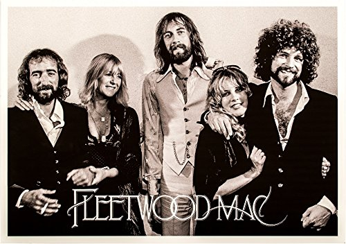 Fleetwood Mac Poster - Fleetwood Mac Poster, Size 24x36