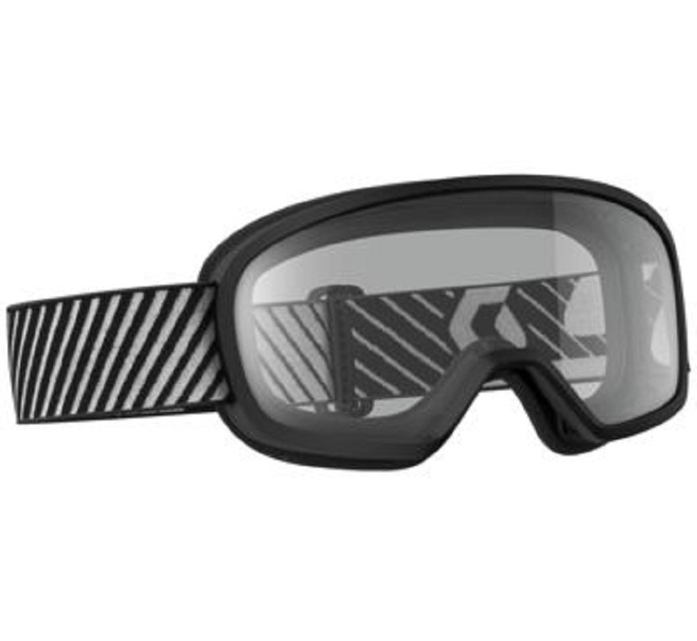 Orange Cycle Parts Junior / Youth Buzz MX Motocross Goggles Black w/ Clear Lens by Scott 262579-0001043
