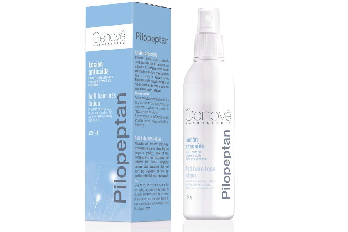 Amazon.com : Genové Pilopeptan Hair Loss Lotion 125ml - Hair Regrowth Treatment - Keep Your Hair Healthy - Say No to Alopecia : Beauty
