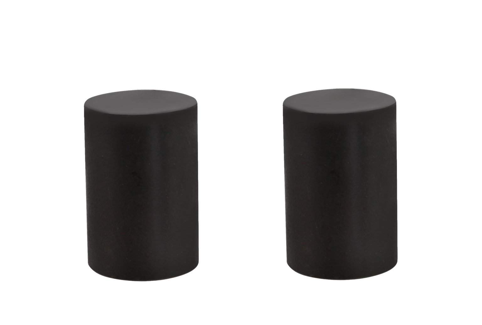 Aspen Creative 24019-32 Steel Lamp Finial Finish, 1 1/4'' Tall (2), 2 Pack, Oil Rubbed Bronze