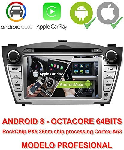 2din GPS Android 8, OctaCore, 64 bits, 2GB RAM, 32GB ROM ...