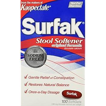 Amazon Com Kaopectate Stool Softener 100 Count Health