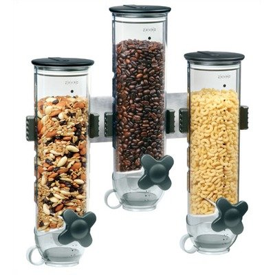 Zevro Wall - Zevro WM300 Wall Mount SmartSpace Dry Food Triple Dispenser