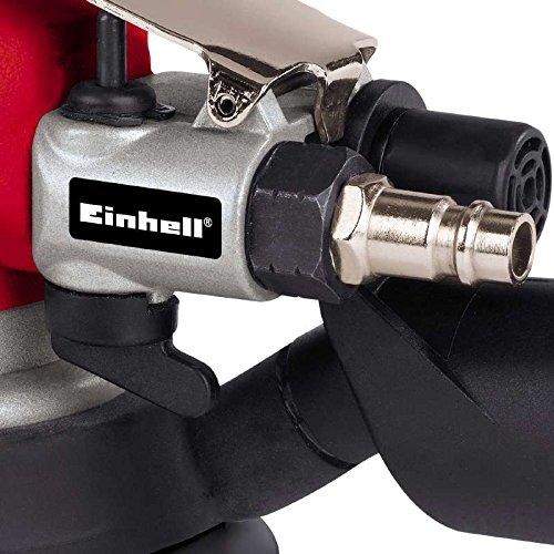 Einhell 4133325 - Lijadora orbital neumática DSE 125, diámetro del círculo 5 mm, color rojo y negro: Amazon.es: Bricolaje y herramientas