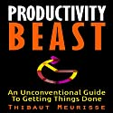 Productivity Beast: An Unconventional Guide to Getting Things Done Audiobook by Thibaut Meurisse Narrated by Meral Mathews